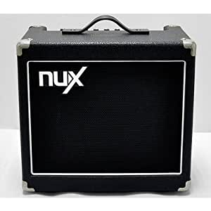 nux mighty 15 electric guitar combo amplifier with built in tuner home audio theater. Black Bedroom Furniture Sets. Home Design Ideas