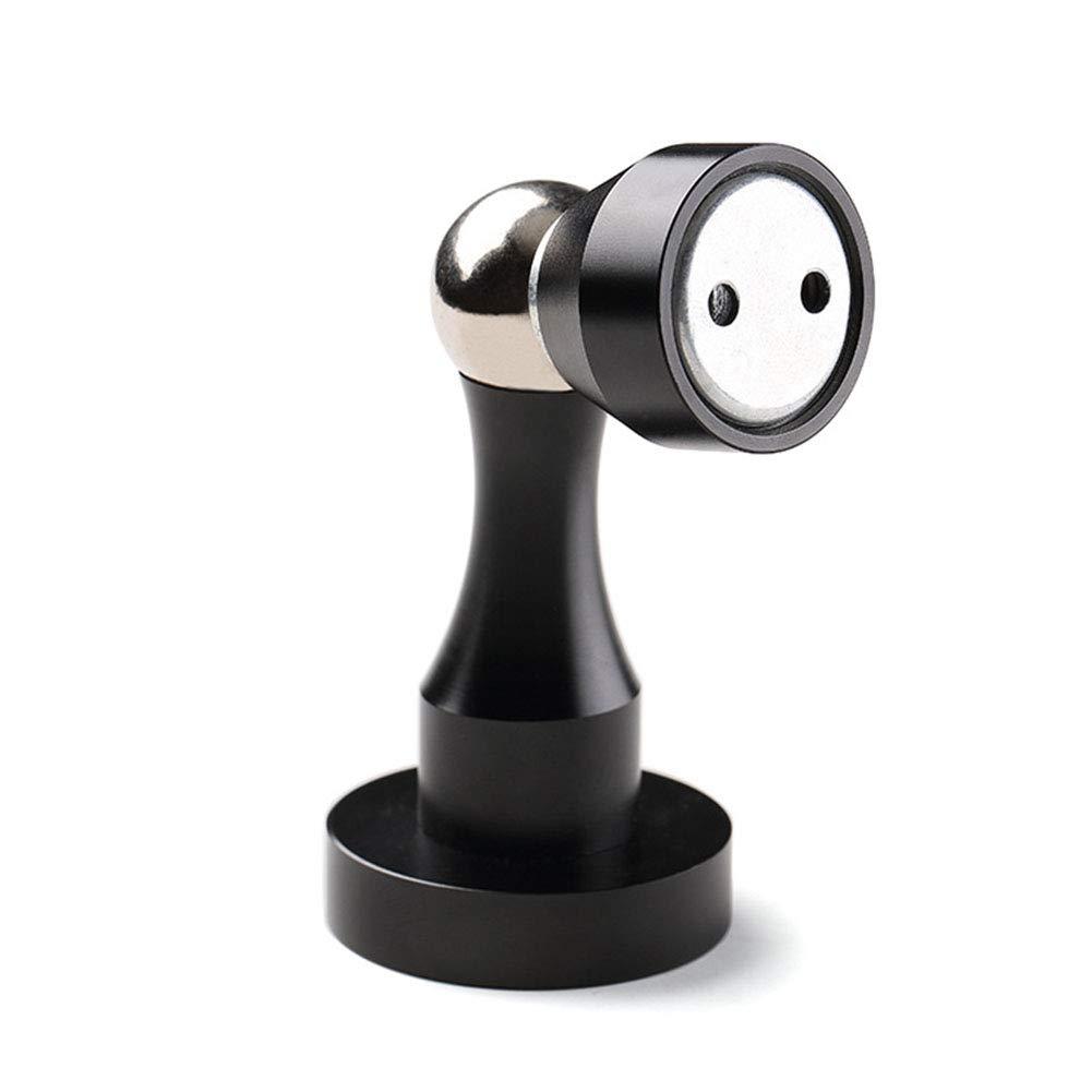 Alician クリエイティブ磁気ドアストッパー ステンレススチール ドアストッパー ドアホルダー ドアストップ ドリルドアストッパー SZLZH-GJXP1017-E114238E5F  Sand Black B07K17YVMW