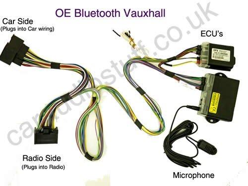 Swell Vauxhall Retrofit Oem Upgrade Bluetooth For Cd300 Amazon Co Uk Wiring 101 Capemaxxcnl