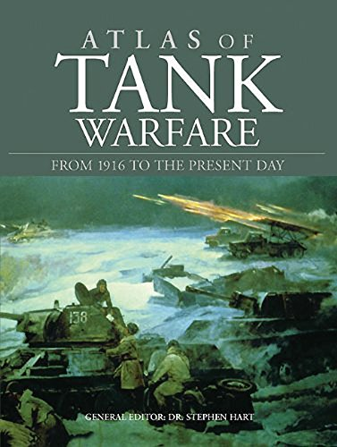 Atlas of Tank Warfare: From 1916 to the Present Day by Brand: Amber Books