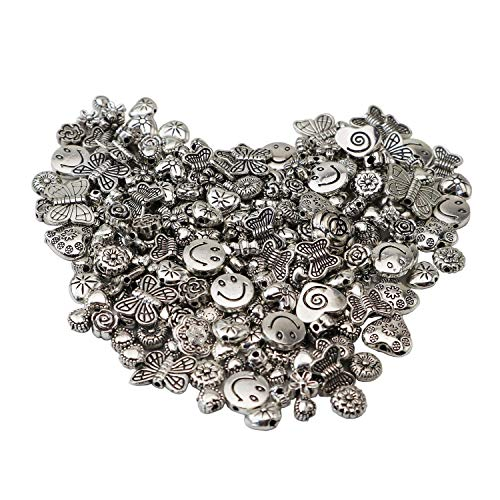 100 Gram(About 120-170pcs) Antique Silver Alloy Butterfly for sale  Delivered anywhere in USA