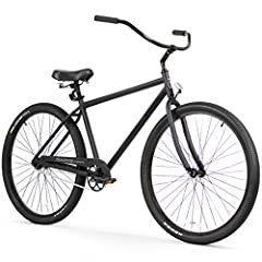 The Firmstrong Black Rock takes cruising to a new level with 29-inch wheels. Taller riders love the bigger wheels, and others enjoy the advantages of riding the Black Rock. Larger wheels help riders gain momentum and maintain speed, without e...