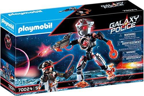 PLAYMOBIL- Galaxy Police Piratas Galácticos Robot Juguete, Multicolor (70024): Amazon.es: Juguetes y juegos