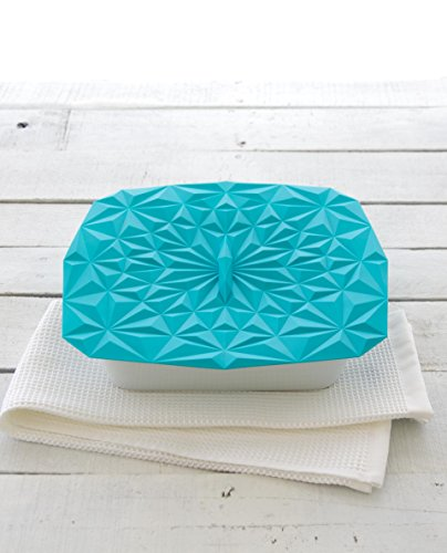 GIR: Get It Right Premium Silicone Rectangular Lid, 9 by 9 Inches, Teal