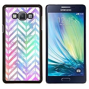 Stuss Case / Funda Carcasa protectora - Blanco iridiscente de neón - Samsung Galaxy A7 ( A7000 )
