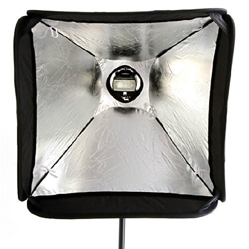 Godox 24''x24''/60cmx60cm Portable Collapsible Softbox Kit for Camera Photography Studio Flash fit Bowens Elinchrom Mount