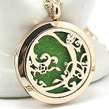 Joy Of Nature Aromatherapy Necklace, Groot Locket Pendant, Chenier Design Rose Gold Gift Jewelry