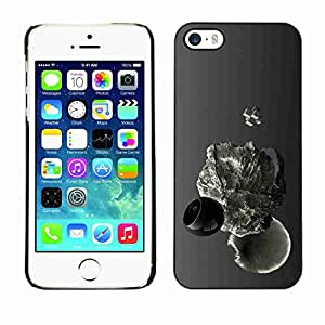 Planetar? ( Abstract Drop ) Apple iPhone 5 / 5Shard printing protective cover protector sleeve case