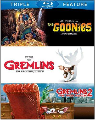 Goonies  The Gremlins Gremlins 2  The New Batch  Bd   3Fe   Blu Ray