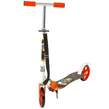TecTake Patinete Monopatín Scooter para Ciudad Niños 205mm - disponible en diferentes colores -