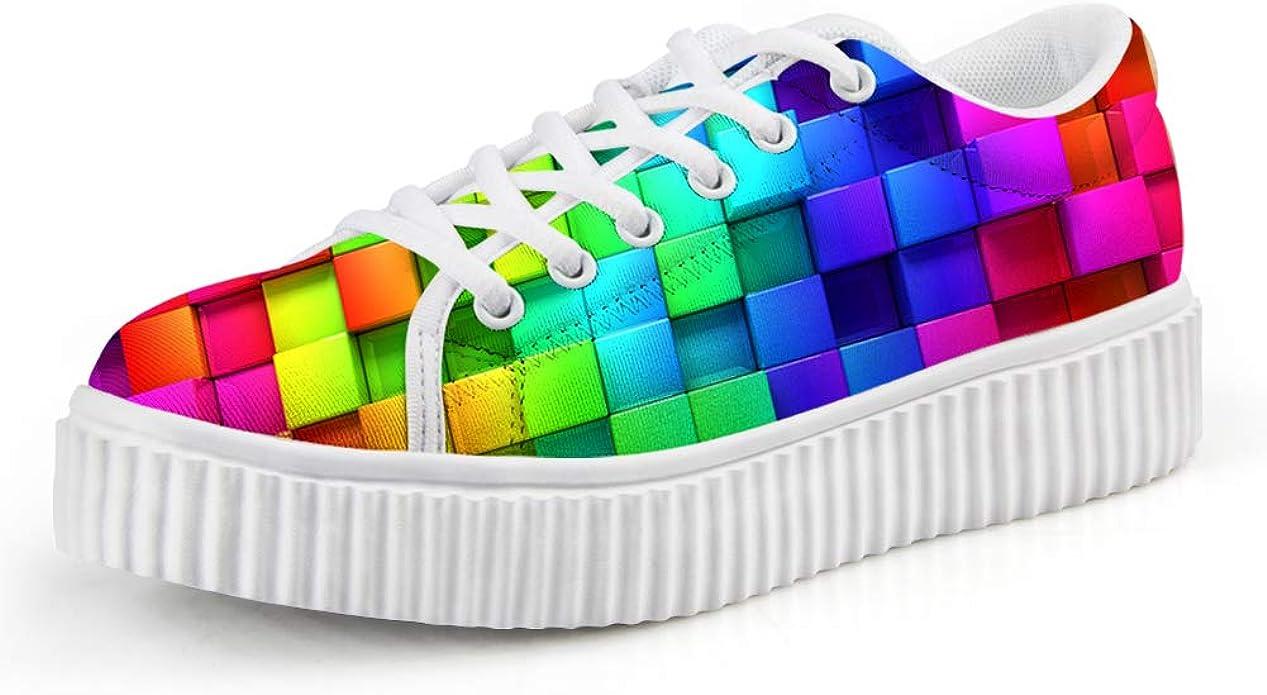 chaqlin Fashion Colorful Lattice