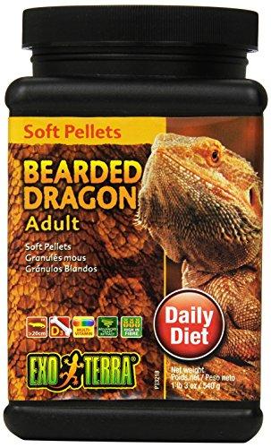 Exo Terra Soft Adult Bearded Dragon Food, 19-Ounce by Exo Terra