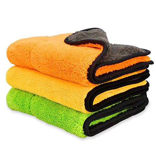 iTavah Car Detailing Towels Pack of 3 15