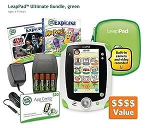 LeapPad Ultimate Bundle, Green