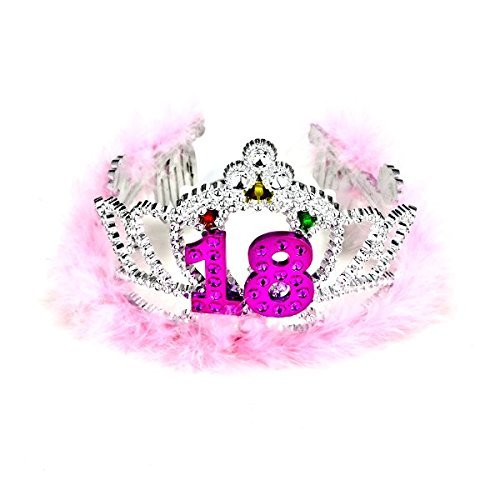 Forum Novelties Flashing Birthday Tiara #18 Novelty Item]()