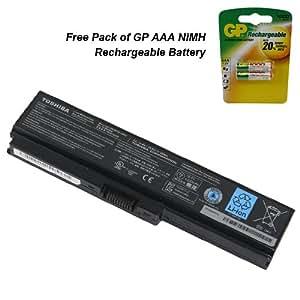 Powerwarehouse Toshiba Satellite L655-S5097 Laptop Battery - Genuine Toshiba Battery 6 Cell