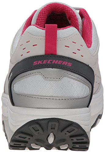 2 Pink Basses Skechers Light ups nbsp;Perfect Comfort Grey Sneakers Femmes 0 Shape wEFq74