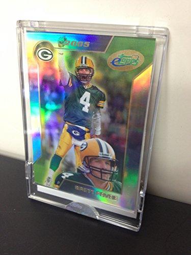 2005 Brett Favre Green Bay Packers eTopps In Hand NFL Football Trading Card