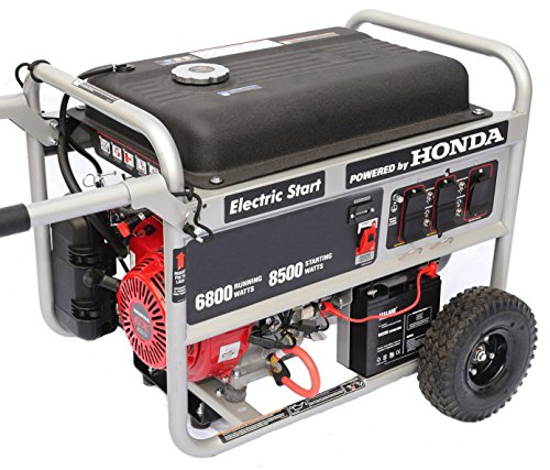Honda Tri Fuel Generator Complete Package 8,500 Starting Watts 6,800  Running Watts U2013 GeneratorsForSale: Gas Generators U0026 Electric Generators