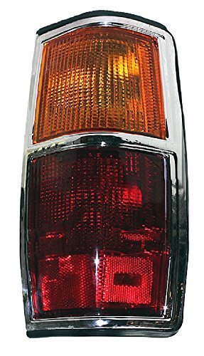 - Passenger Taillight Taillamp (with Chrome Trim) For 83 - 84 Nissan Pickup (720, 2wd only) NEW 2655410W00 NI2809103