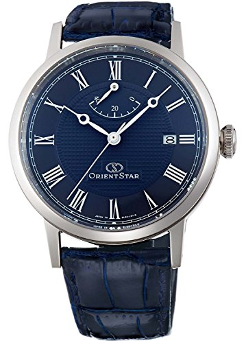 ORIENT watch ORIENTSTAR Orient Star elegant classic mechanical automatic winding Navy WZ0331EL Men