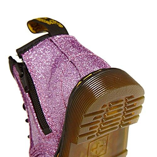 Martens Cheville Pink Paillettes Filles Dr Martres Girls' 1460 Boots I Bottes Dr 1460 Ankle I Rose Glitter 45p5Aw6q