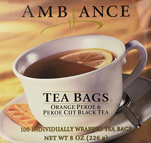 Orange Pekoe Black Tea - 1 X 100 Ambiance Orange Pekoe & Pekoe Cut Black Tea Bags