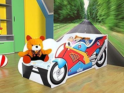 Somier-Colchón para cama infantil 140 x 70 cm: Amazon.es: Hogar