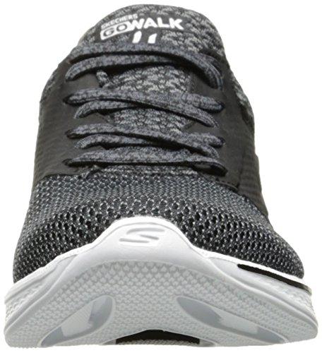Skechers Go Walk 4-Sustain Black/White Black/White
