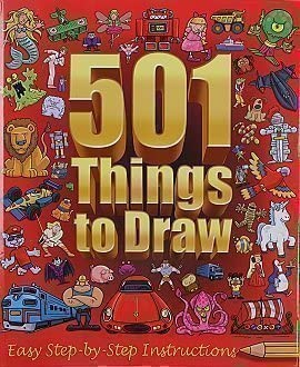 501 Things To Draw Easy Step By Step Instructions N A