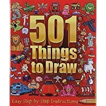 501 things to draw easy step by step instructions 103 best.