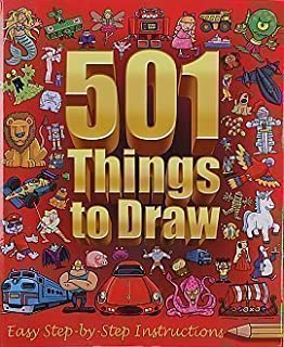 501 things to draw: easy step-by-step instructions (1846669359.
