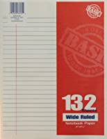 Norcom 11 x 8.5 Inches, 132 Sheets Wide Ruled Notebook Paper (78132-24)
