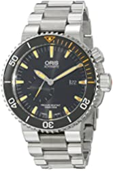 Oris Men's 74377097184MB Analog Display Swiss Automatic Silver Watch