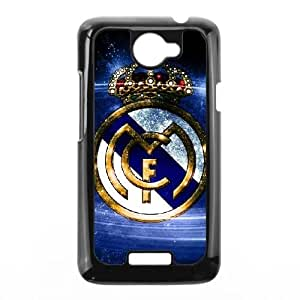 HTC One X Cell Phone Case Black Real Madrid T4386022