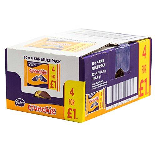 Cadbury Crunchie Multipacks Bars Total