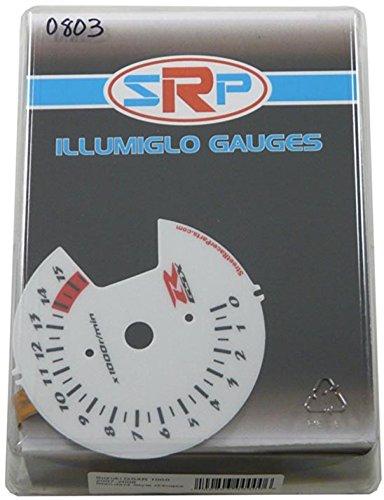 (Street Racer Parts SRP0803 Halo Reverse Style Illumiglo Gauge)