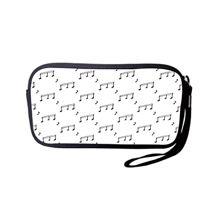 Amazon com: Neoprene Wristlet Wallet Bag,Coin Pouch,Music