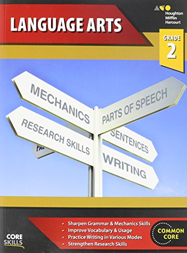 Steck-Vaughn Core Skills Language Arts: Workbook Grade 2
