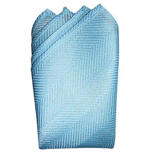 Herringbone Silk Pocket Square - 3