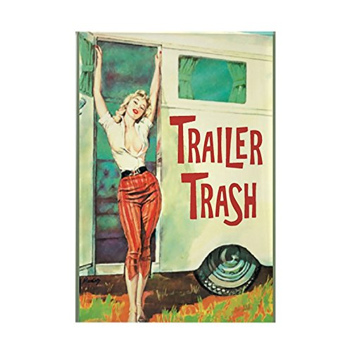 CafePress - Trailer Trash Magnets - Rectangle Magnet, 2