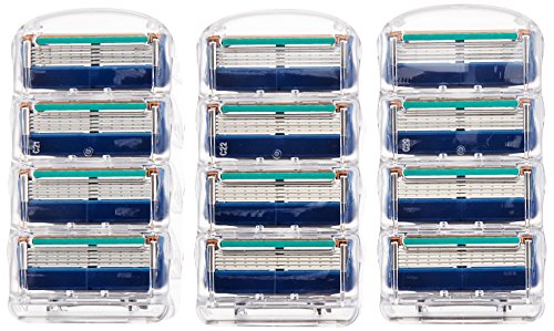 Price comparison product image Gillette Fusion Manual Men's Razor Blade Refills, 12 Count