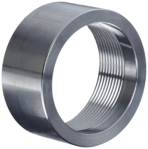 Coupling Half (Stainless Steel 316 Cast Pipe Fitting, Half Coupling, MSS SP-114, 1/2