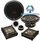 Rockford Fosgate T1650-S Power 2-Way 6-1/2 Car Audio Component Speaker System