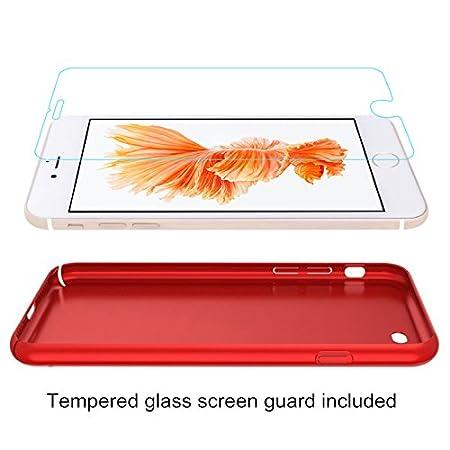 Ultra Mince /& L/éger R/ésistant aux Empreintes digitales Housse Galaxy S7 Edge Coque Or Anti-Rayures /Étui en Plastique Protecteur d/écran en Verre tremp/é, enti/èrement Protecteur Dur Case