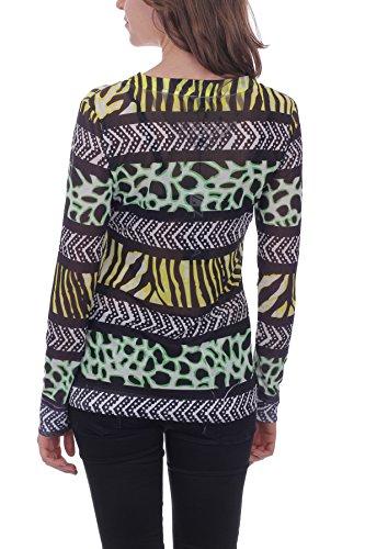 Longues T 1150085 Imprimée Noir Zelia Manches shirt xI15pg