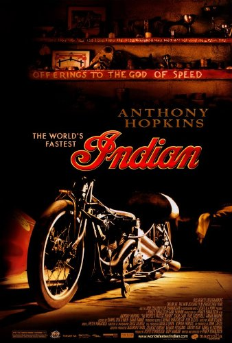- The World's Fastest Indian Movie Poster (11 x 17 Inches - 28cm x 44cm) (2005) Style B -(Anthony Hopkins)(Lana Antonova)(Juliana Bellinger)(Chris Bruno)(Jessica Cauffiel)(Campbell Cooley)