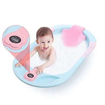 Amazon.com: NUOAO Summer Infant Comfort Height Bath Tub,Green ...