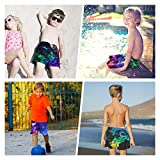 Teenager Boys Funny Pineapple Swim Trunks Shark