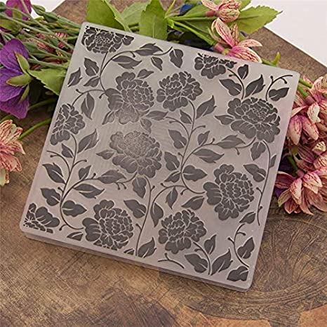 Seashells Plastic Embossing Folder for Scrapbooking DIY Card Making